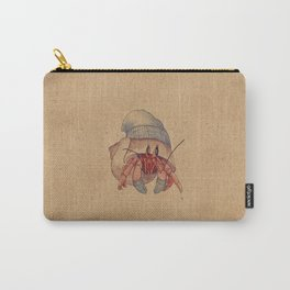 Winter Hermit Crab Carry-All Pouch