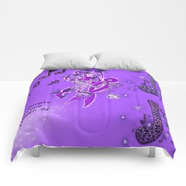 Power Purple For a Cure - The Power of Music Comforters