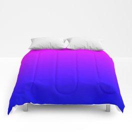 Fuchsia/Violet/Blue Ombre Comforters
