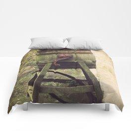 Antique Butter Churn Comforters