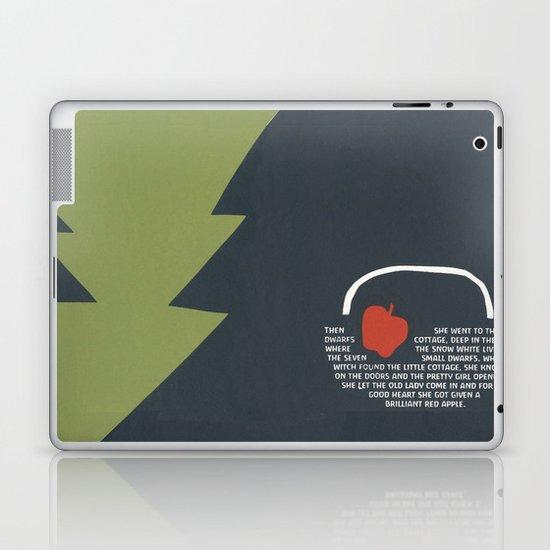 red apple Laptop & iPad Skin