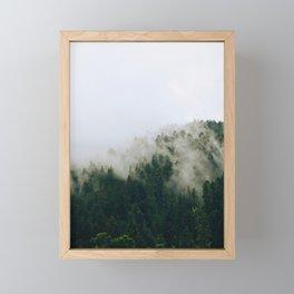 The Fog in the Trees Framed Mini Art Print