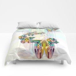 Cascadas cromáticas Comforters