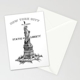 Statue of Liberty Vintage Print, Statue of Liberty Shirt, civil rights shirt,graphic tees, Stationery Cards