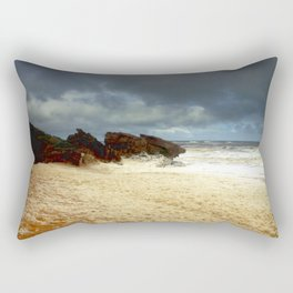 Foaming Residue Rectangular Pillow