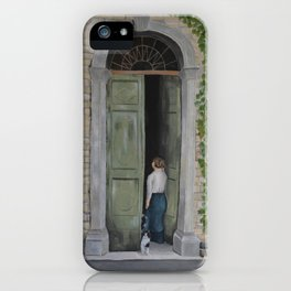 Going In and Out iPhone Case