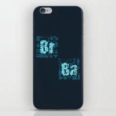 Br Ba iPhone & iPod Skin