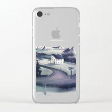 Alpine Island Clear iPhone Case