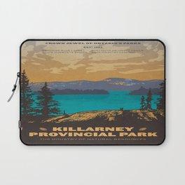 Vintage poster - Killarney Provincal Park, Canada Laptop Sleeve