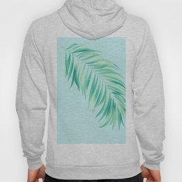 Aqua Tropical Palm Hoody