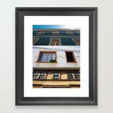 Facades Framed Art Print