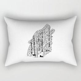 HIDDEN ANIMALS II Rectangular Pillow