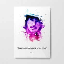 Stephen chow quotes Metal Print
