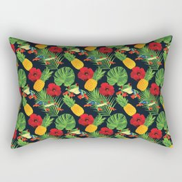 The Tropical Red Eyed Tree Frog Rectangular Pillow