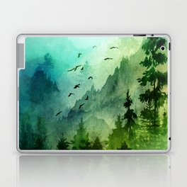 Mountain Morning Laptop & iPad Skin