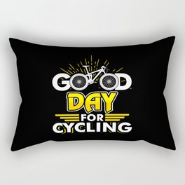 Good Day for Cycling - Bicycle Bike Race Sport Rectangular Pillow