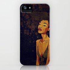 afro - Soul iPhone (5, 5s) Slim Case