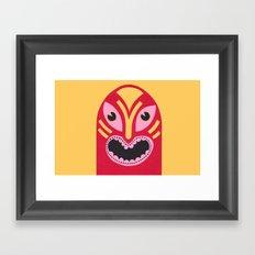 The Jolly Lucha Framed Art Print