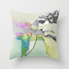 Ghost in the Stone #3 Throw Pillow