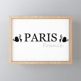 Fashion City: Paris Framed Mini Art Print