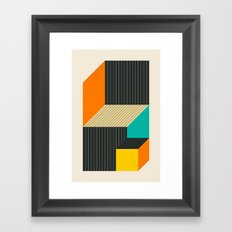 CUBES (6) Framed Art Print