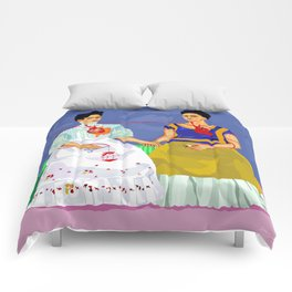 The two Fridas Comforters