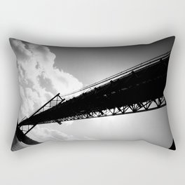 25th of April Bridge, Lisbon, Portugal - by Cheryl Gerhard Rectangular Pillow