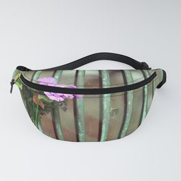 Door With Flowers Fanny Pack