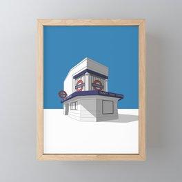 Trinity Road (Tooting Bec) Framed Mini Art Print