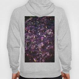 Pretty in Purple Flowers Hoody