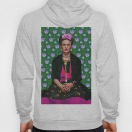 Flowers Frida Kahlo I Hoody