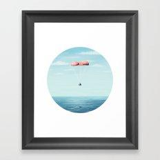Splashdown Framed Art Print