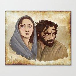 Two For Bethlehem Canvas Print