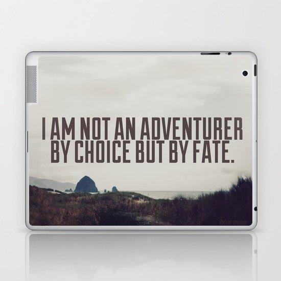 Adventurer by Fate Laptop & iPad Skin