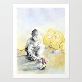 The little prince. Art Print