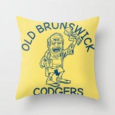 Old Brunswick Codgers Throw Pillow