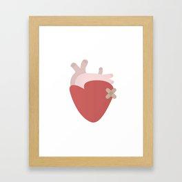 Sorry Framed Art Print