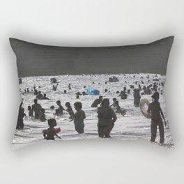 Shadow Beach Rectangular Pillow