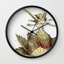 Blood death flower Wall Clock