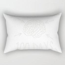 100th Day of School Shirt for Teachers Rectangular Pillow