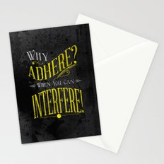 Interfere! Stationery Cards