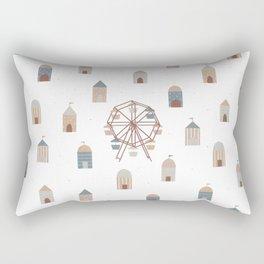 On the ferris wheel Rectangular Pillow