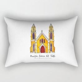 Basilica de Nuestra Senora del Valle Rectangular Pillow