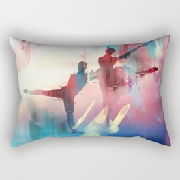 dancing Rectangular Pillow