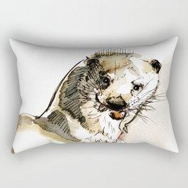 Totem Eurasian River Otter Rectangular Pillow