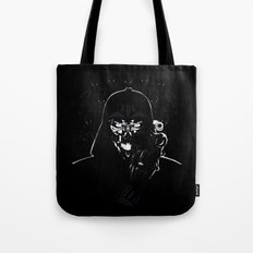 Cyborg Face Tote Bag