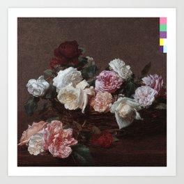 New Order - Power Corruption Lies Art Print