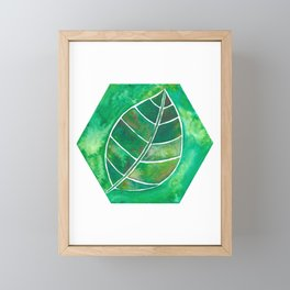 4 elements: Earth Framed Mini Art Print