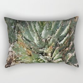 Don't Touch Me! Rectangular Pillow
