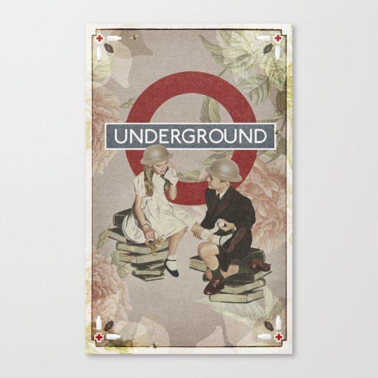 The Underground Canvas Print